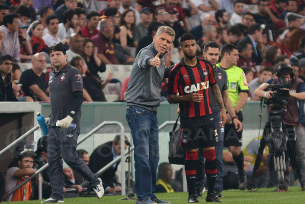 Autuori agradeceu apoio da torcida. (Divulgação/ Atlético)