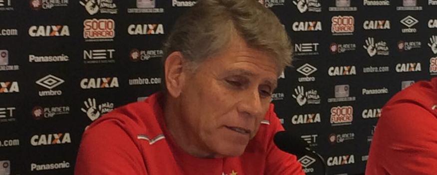 Autuori diz que Atlético precisa saber ganhar fora. (Osmar Antônio/ Banda B)