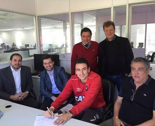 Pablo tem contrato por mais três com o Rubro-Negro. (Reprodução/Instagram)