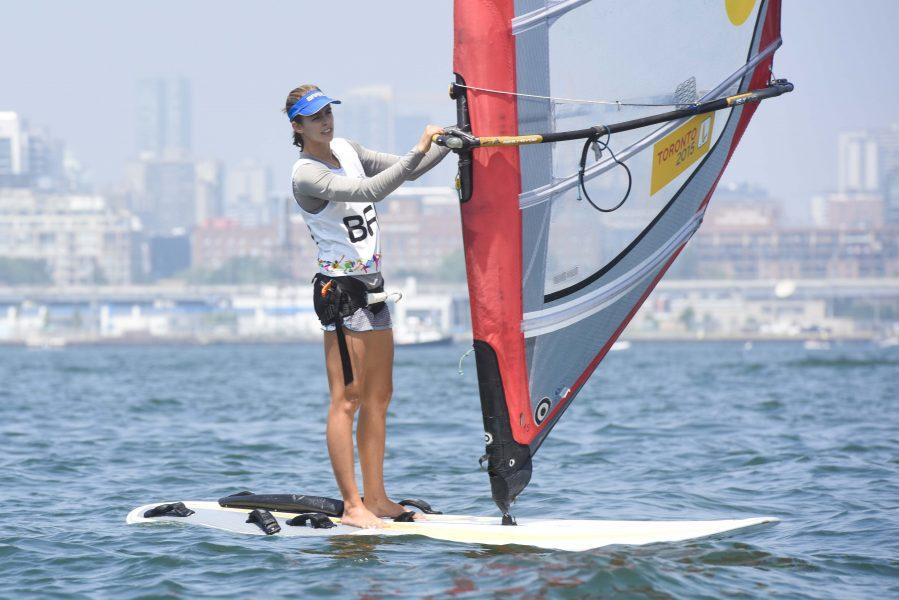 Jogos Panamericanos de Toronto 2015. - Patricia da Costa Freitas competindo na categoria Windsurf RSX : Foto: William Lucas/Inovafoto/Bradesco - Canada - 0 - Toronto - Sugar Beach - - www.inovafoto.com.br - id:96149