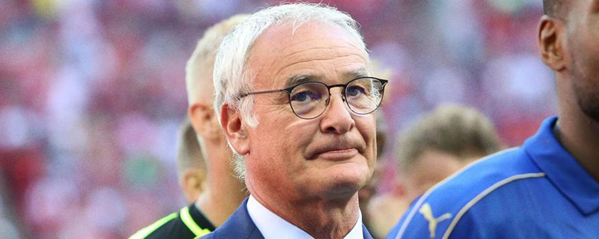 Ranieri renovou com o Leicester. (Divulgação/ Leicester City)