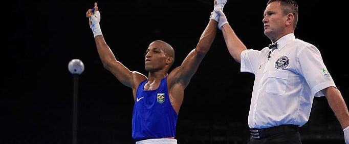 Robson Conceição garante medalha no boxe. (Divulgação/ Brasil 2016)