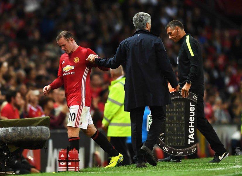 Rooney anunciou data para se aposentar da seleção. (Getty Images/ Manchester United/ Divulgação)