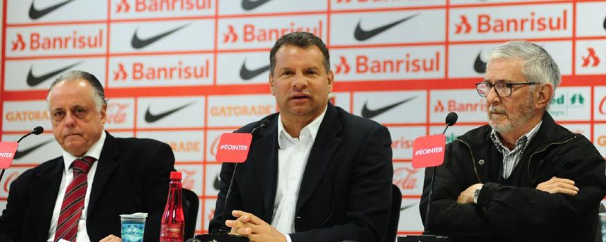 Roth é o novo técnico do Inter. (Divulgação/ Internacional)