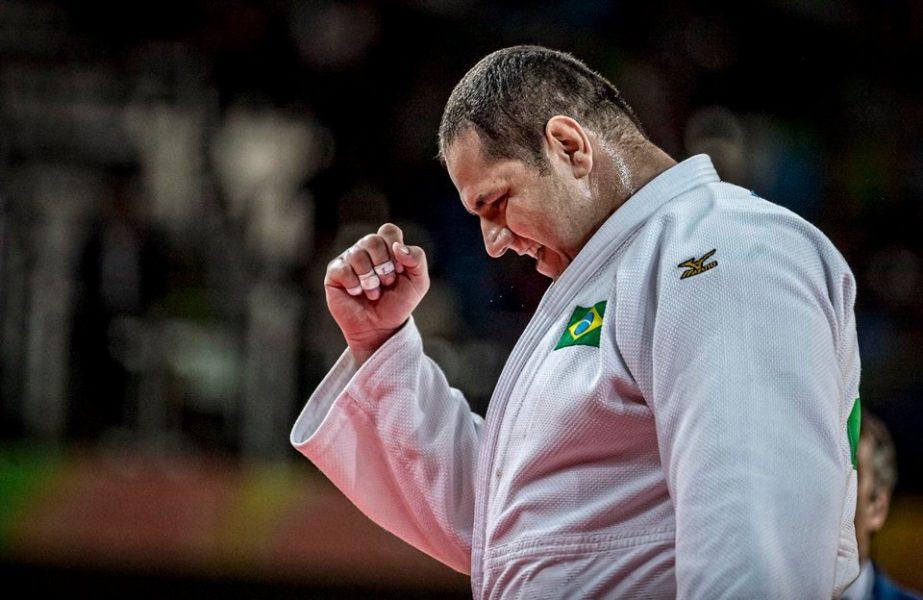 Rafael Silva ganhou a última medalha do judô brasileiro. (Marcio Rodrigues/MPIX/CBJ)