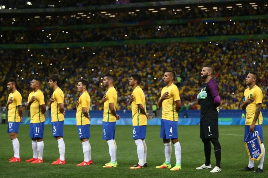 Brasil decide sua vaga contra a Dinamarca. (Lucas Figueirense/MoWa Press/CBF)