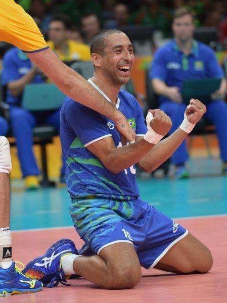 Serginho encerra sua história na Olimpíada com quatro medalhas. (Divulgação/CBV)