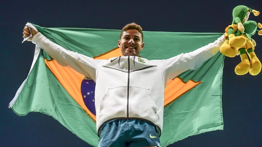 Thiago Braz foi medalhista de ouro na Rio 2016. (Wander Roberto/ Exemplus/ COB)