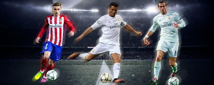 Rivais de Madrid têm os três melhores da Europa. (Divulgação/ UEFA)