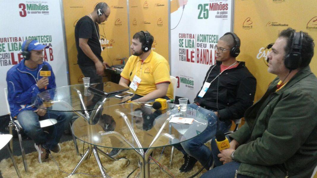 Vanderlei Cordeiro de Lima concedeu entrevista à Banda B. (Banda B)