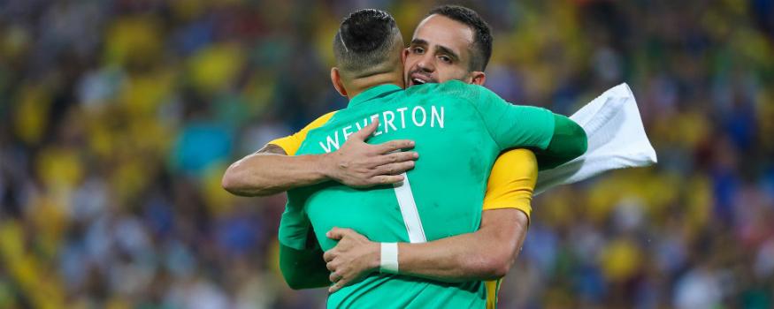 Weverton ganha oportunidade na seleção principal. (Divulgação/ CBF)