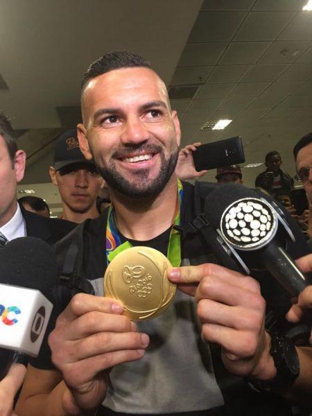 Weverton foi o goleiro menos vazado do Brasil na história da Olimpíada. (Monique Vilela/Banda B)