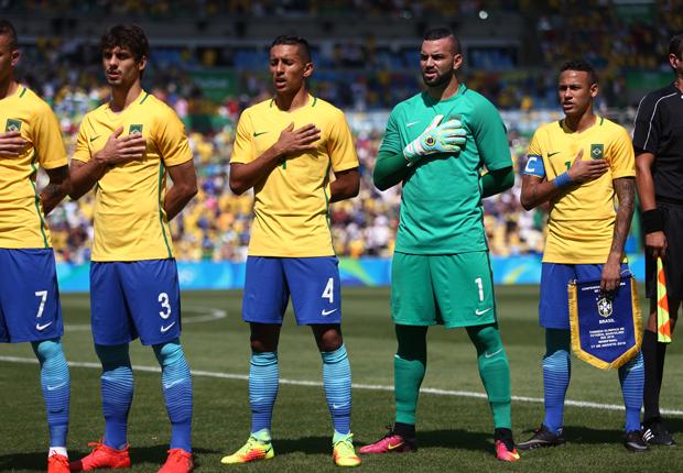 Weverton não levou gols nas cinco partidas disputadas. (Lucas Figueiredo/Mowa Press/CBF)