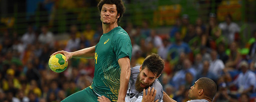 Handebol masculino faz história na Olimpíada. (Divulgação/ Brasil 2016)