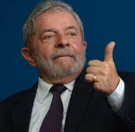 O ex-presidente da República Luiz Inácio Lula da Silva durante solenidade comemorativa dos 10 anos da reforma do Judiciário (José Cruz/Agência Brasil)