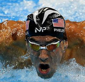Michael Phelps ganhou mais uma medalha de ouro. (Divulgação)