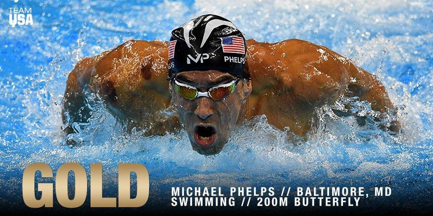 Michael Phelps ganhou sua segunda medalha no Rio. (Divulgação/US Olympic Team)