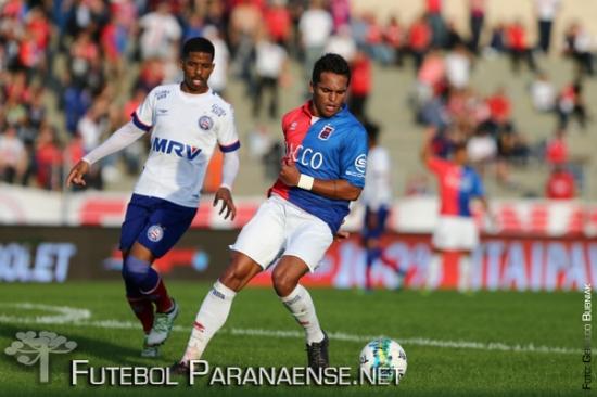 Paraná e Bahia empataram sem gols no primeiro turno. (Geraldo Bubniak/Futebolparanaense.net)
