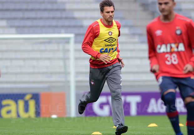 Paulo André projeta jogo complicado contra Figueirense. (Divulgação/ Atlético)