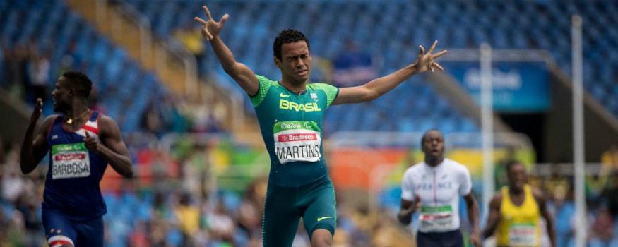 Daniel Martins é ouro para o Brasil. (Daniel Zappe/ MPIX/ CPB)