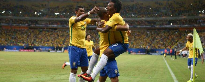 Seleção brasileira bateu a Colômbia. (Divulgação/ CBF)
