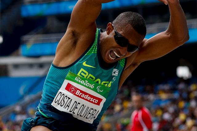 Ricardo Costa é ouro para o Brasil. (Divulgação/CPB)