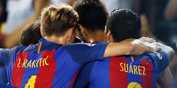 Barcelona estreou com goleada na Champions. (Divulgação/Barcelona)