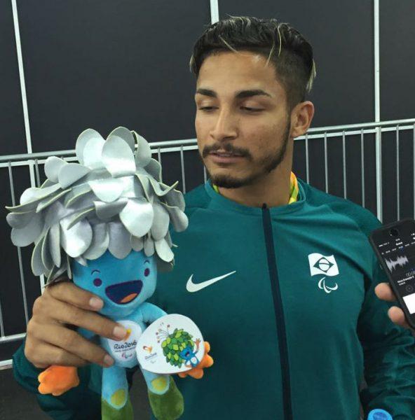 Brasileiro levou a medalha de prata. (Divulgação/ Brasil 2016)