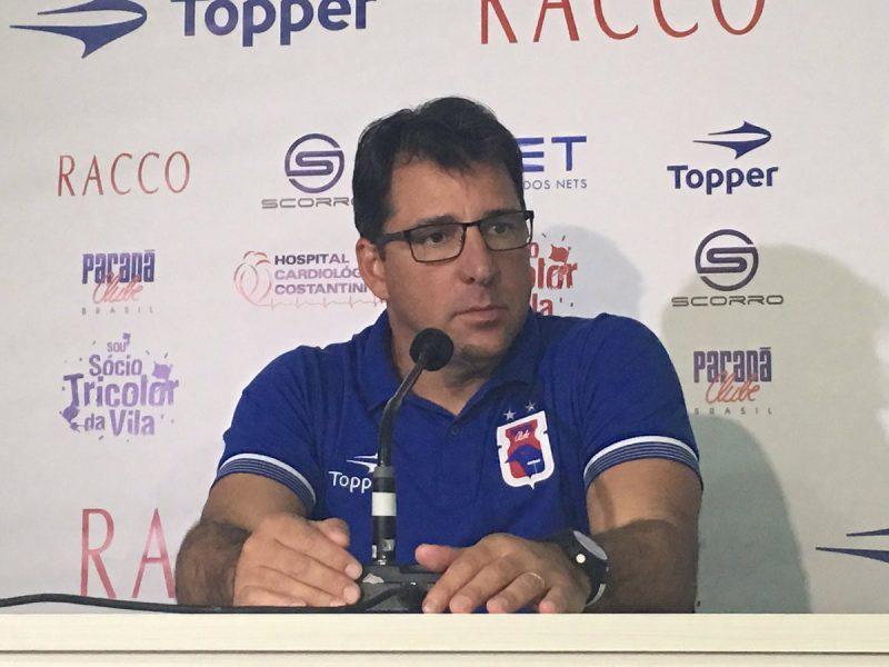 Marcelo Martelotte confirmou que repetirá a equipe na próxima rodada. (Monique Vilela/Banda B)