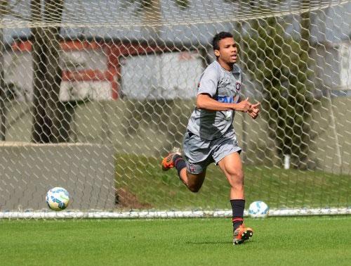 Núbio Flávio reforça o Paraná no restante da Série B. (Divulgação/Atlético)