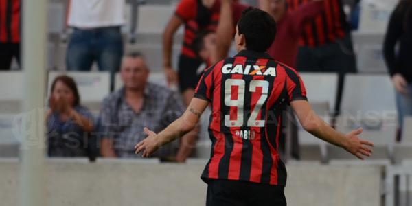 Pablo garantiu mais três pontos para o Atlético. (Divulgação/Atlético)