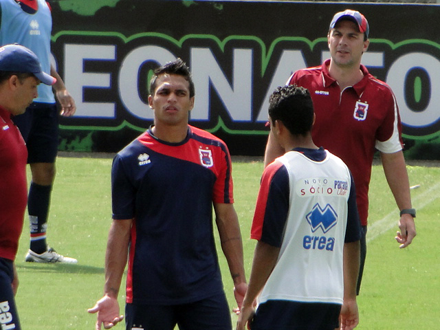 Robson deixa o Paraná com 12 gols na temporada. (Monique Vilela/Banda B)