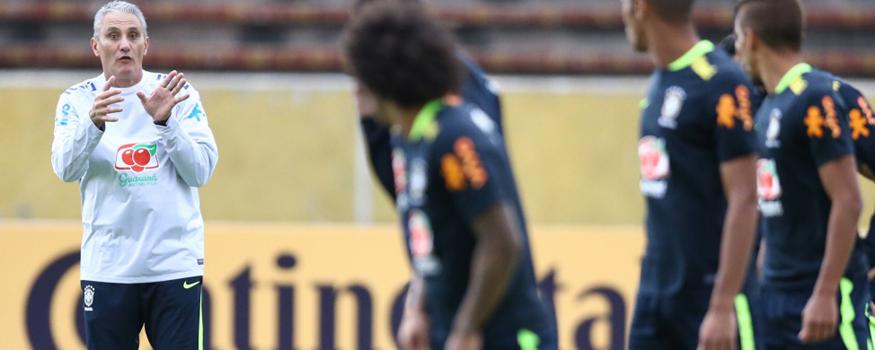 Seleção de Tite estreia contra Equador. (Divulgação/ CBF)