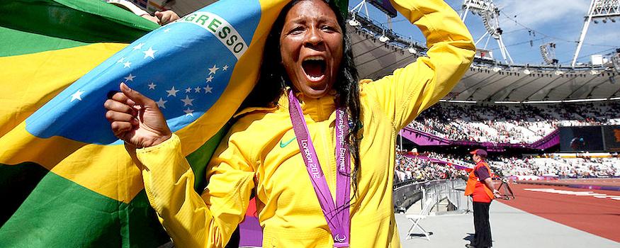 Shirlene Coelho será porta-bandeira do Brasil. (Patrícia Santos/ CPB)