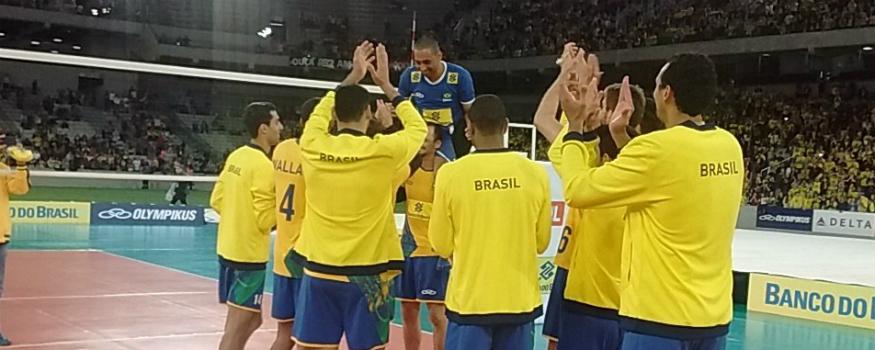 Brasil fez amistoso na Baixada. (Pedro melo/ Banda B)