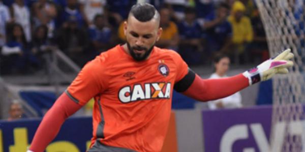 Weverton será a novidade no Atlético. (Divulgação/Atlético)