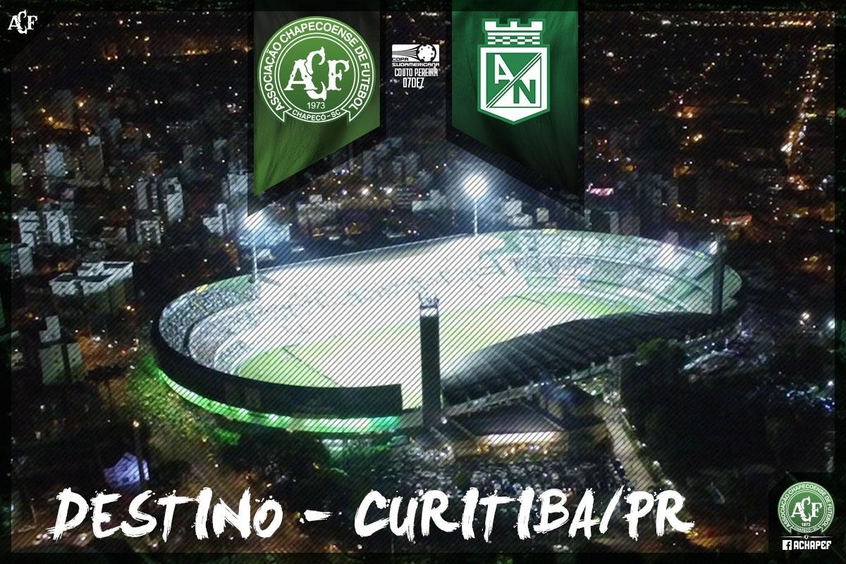 Chapecoense confirmou decisão no Couto Pereira (Divulgação)