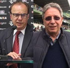 Luiz Sallim Emed e Rogério Bacellar manifestaram contra rateio da Primeira Liga (Divulgação)
