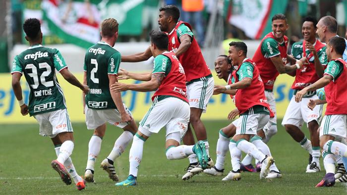 Palmeiras ganhou o título com uma rodada de antecedência. (Divulgação/Palmeiras)