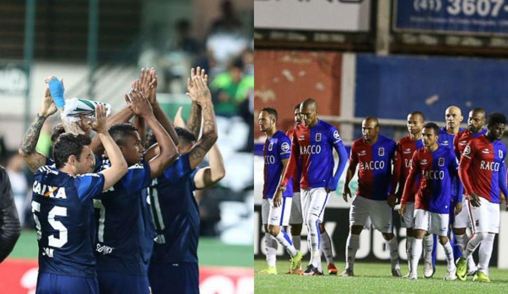 Coritiba e Paraná jogarão longe de casa na estreia da Copa do Brasil. (Geraldo Bubniak/Futebolparanaense.net)