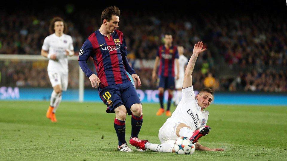 Barcelona encara o PSG pelo terceiro ano seguido. (Divulgação/Barcelona)
