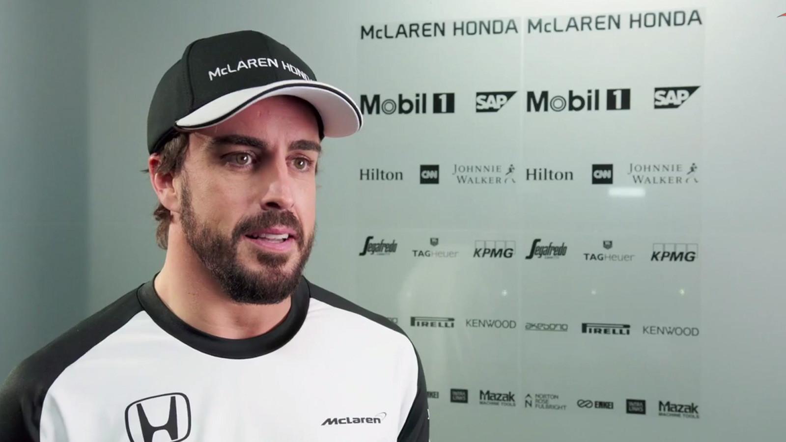 Alonso não mudará da equipe em 2017. (Divulgação/Fórmula 1)