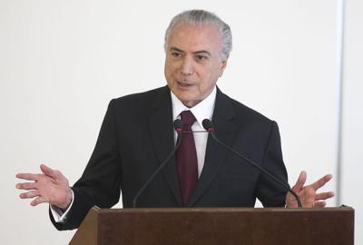 Brasília - O presidente Michel Temer participa da cerimônia de assinatura do contrato de estruturação financeira da Santa Casa de São Paulo (Antonio Cruz/Agência Brasil)