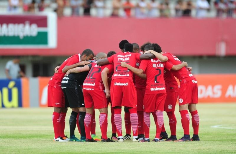 Internacional empatou no Rio de Janeiro e foi rebaixado para a segunda divisão (Divulgação/Internacional)