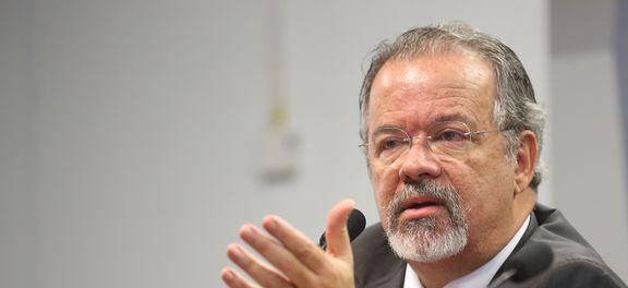 Brasília - Ministro da Defesa, Raul Jungmann, fala na Comissão de Relações Exteriores e Defesa Nacional do Senado sobre as diretrizes e os programas da pasta (Antonio Cruz/Agência Brasil)
