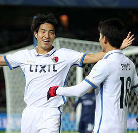 Kashima vai enfrentar o Atlético Nacional na semifinal (Divulgação/Kashima Antlers)