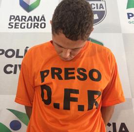 O outro detido não foi apresentado pela polícia (Foto: Antônio Nascimento - Banda B)