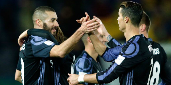Real Madrid encara o Kashima Antlers na final. (Divulgação/Real Madrid)