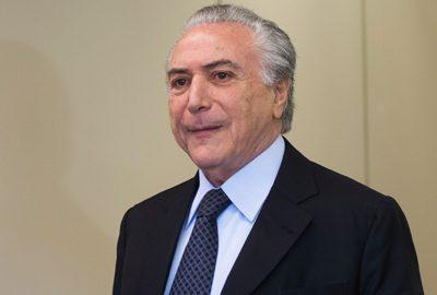 O vice-presidente da República, Michel Temer, recebe líderes da Câmara dos Deputados ( Marcelo Camargo/Agência Brasil)
