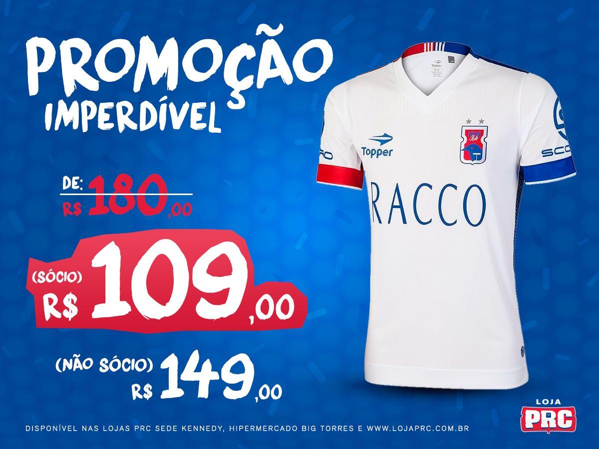 Paraná lança promoções para torcedores que quiserem adquirir a ... a47632b6b4231